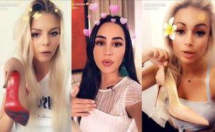Jessica, Milla et Carla se sont énervées sur Snapchat parce qu'elles croyaient ne plus pouvoir porter de Louboutin.