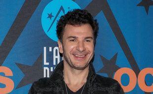 Michaël Youn au Festival de l'Alpe d'Huez, le 17 janvier 2020.