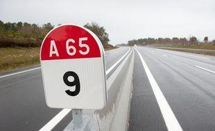 Autoroute A65.