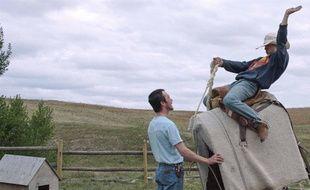Brady Jandreau dans The Rider de Chloé Zhao