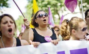 La mobilisation était moins forte que lors des manifestations anticrise de 2009.