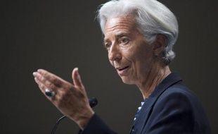 La directrice du Fonds monétaire international, Christine Lagarde, le 2 juillet 2014 à Washington