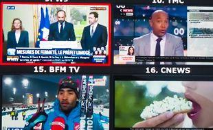 BFMTV et CNews (illustration)