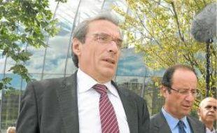 Roland Ries, lors d'une visite de Hollande, en septembre.