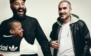 Zane Lowe (à droite), en charge de la radio Beats 1, disponible exclusivement sur le service Apple Music.