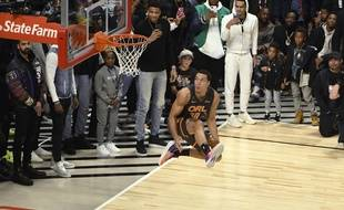 Aaron Gordon au dunk contest de 2020