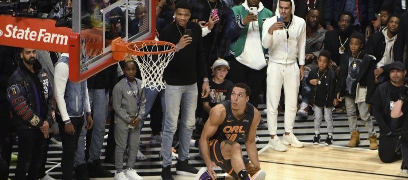 Aaron Gordon au dunk contest de 2020
