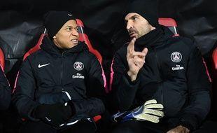 Mbappé et Buffon