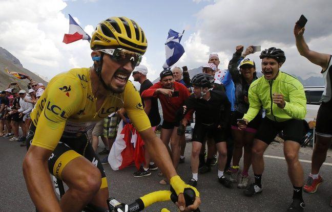 Tour de France 2019: Il sera sur le podium, Julian Alaphilippe élu «super-combatif» du Tour