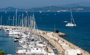 Hyères le 24 aout 2011 -L'île de Porquerolles.