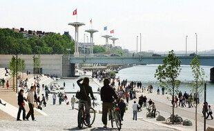 La piste cyclable des quais du Rhône est la plus fréquentée de France depuis le début de l'année.