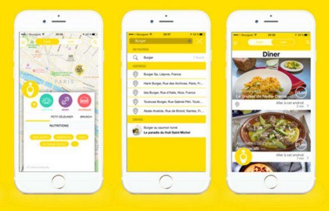 Youalacarte permet de choisir des menus en fonction de ses restrictions alimentaires.