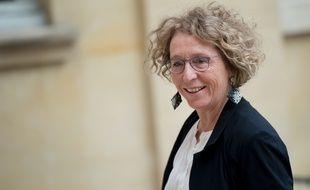 Muriel Penicaud à Paris le 30 août 2018.