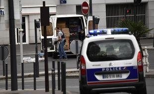 Une opération antiterroriste à Villejuif (Val-de-Marne) après la «découverte d'éléments pouvant entrer dans la composition d'explosifs», le mercredi 6 septembre 2017.
