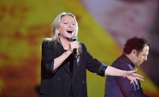 Véronique Sanson aux Victoires de la Musique 2017.