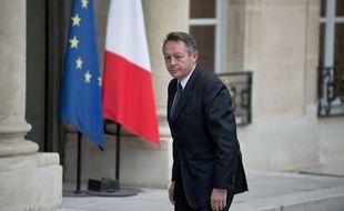 Thierry Braillard à l'Elysée le 14 novembre 2015.