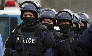 Des policiers japonais (illustration).