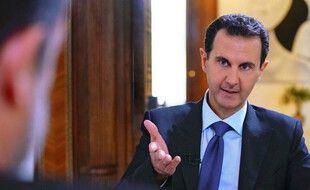 Une photo du président Bachar Al-Assad, le 28 novembre 2019, publiée par l'agence officielle Syrian Arab News.