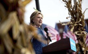 Hillary Clinton dans l'Iowa, le 28 octobre 2016.