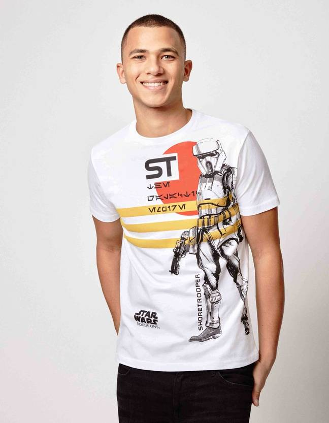 Tee-shirt Star Wars x Celio, 19,99 euros.