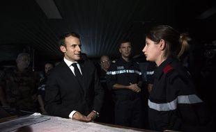 L'interview du président Emmanuel Macron dans le 20 Heures de TF1 mercredi a été filmée depuis le porte-avions Charles de Gaulle.