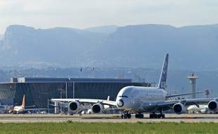 Airbus had already organized several tests in Nice with the A380, as here on 3 June 2008.