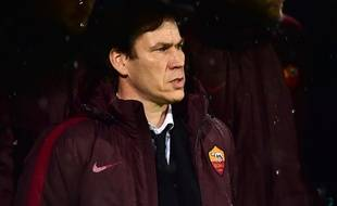 L'entraîneur de l'AS Rome Rudi Garcia à Bologne, le 21 novembre 2015.