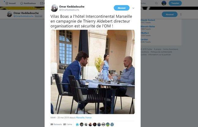 Mercato OM: André Villas-Boas photographié à Marseille avec des dirigeants
