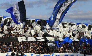 Les tribunes du Stade Armand-Cesari, où évolue le Sporting club de Bastia, le 17 octobre 2015