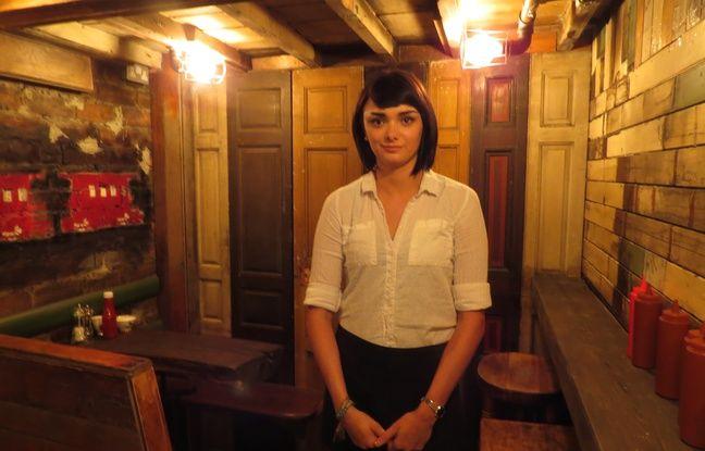 Leene, 24 ans, serveuse dans un restaurant à Glasgow.