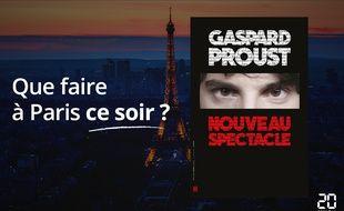 Gaspard Proust jouera son spectacle jusqu'au 30 décembre.