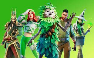 Une image promotionnelle du jeu « Fortnite »