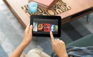 Moins de 400 g et de 11 mm d'épaisseur pour la nouvelle tablette Kindle Hire HD.