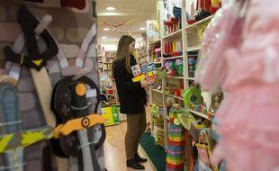 Illustration des achats de jouets.