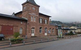La gare de Schirmeck.