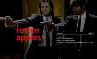 Illustration Rotten Apples