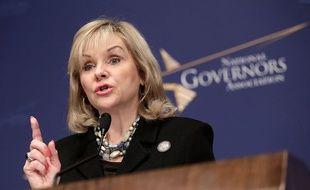 La gouverneure de l'Oklahoma Mary Fallin, à Washington le 15 janvier 2014.