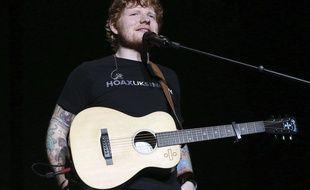 Ed Sheeran en concert à Atlanta (Etats-Unis), le 25 août 2017.
