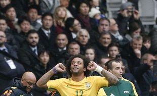 Marcelo célèbre son «golaço»