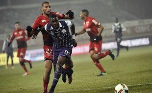 L'attaquant du TFC Odsonne Edouard lors du match de Ligue 1 à Dijon, le 21 décembre 2016.