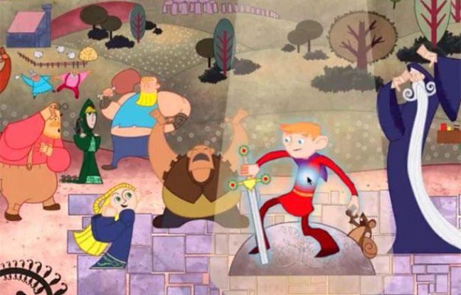 Un extrait du jeu social «Living classics» lancé par Amazon en août 2012.