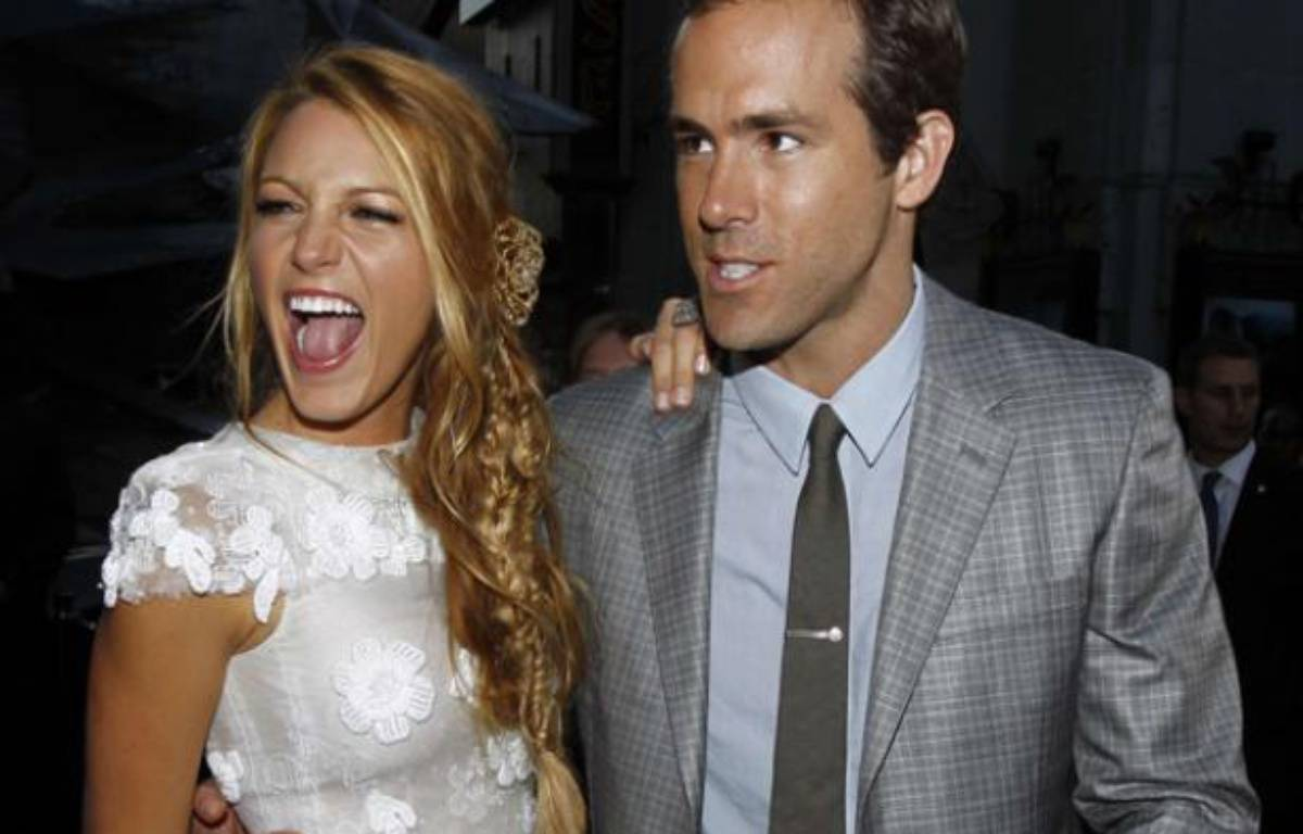 Ryan Reynolds et Blake Lively le 1er juin 2011 – Matt Sayles/AP/SIPA
