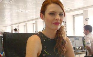 Elodie Frégé à la rédaction de 20 Minutes pour son nouvel album «Amuse bouches»