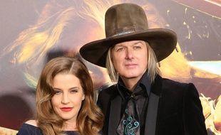 Lisa Marie Presley et son ex-mari Michael Lockwood