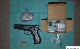 Des armes et de la drogue découvertes par la police près de Nantes