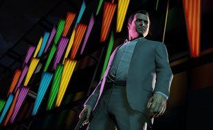 """Le jeu vidéo """"GTA V""""."""