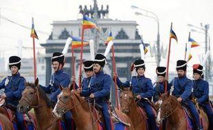 """""""C'est parti ! Vite ! Vite !"""", crie le chef cosaque. Dressé sur son cheval, il prend la route dimanche avec son petit bataillon de cavaliers en direction de Paris, un voyage à travers six pays sur les traces des cosaques qui avaient poursuivi Napoléon Ier entre 1812 et 1814."""