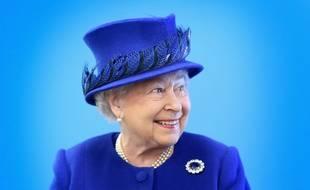 La reine Elizabeth II le 8 mars 2016 à Londres.