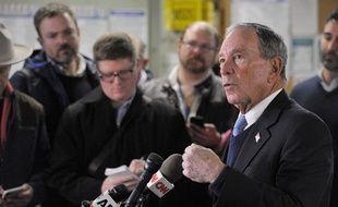 Le milliardaire et ancien maire de New York,  Michael Bloomberg, s'est lancé dans la course à la présidentielle 2020.