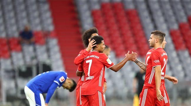 Et encore huit buts pour la machine de guerre du Bayern Munich